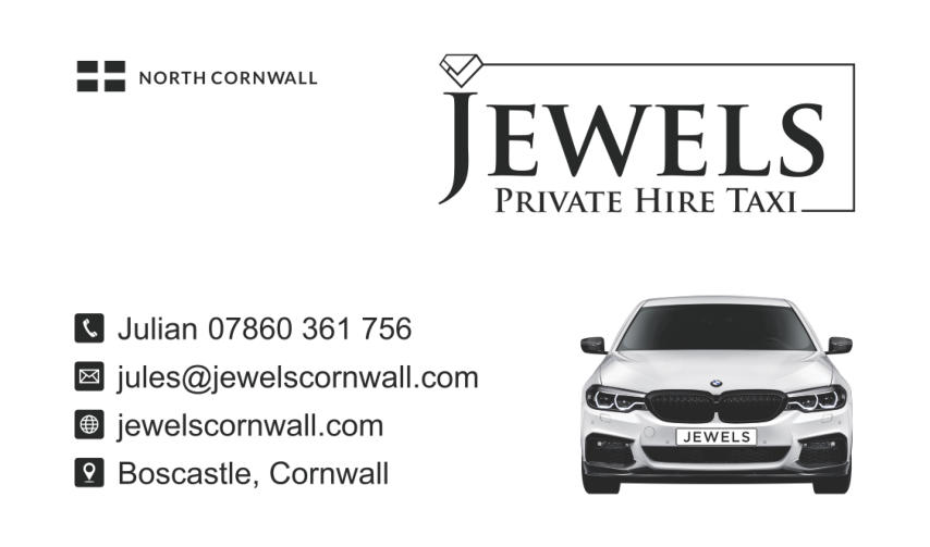 BOSCASTLE BASED TAXI